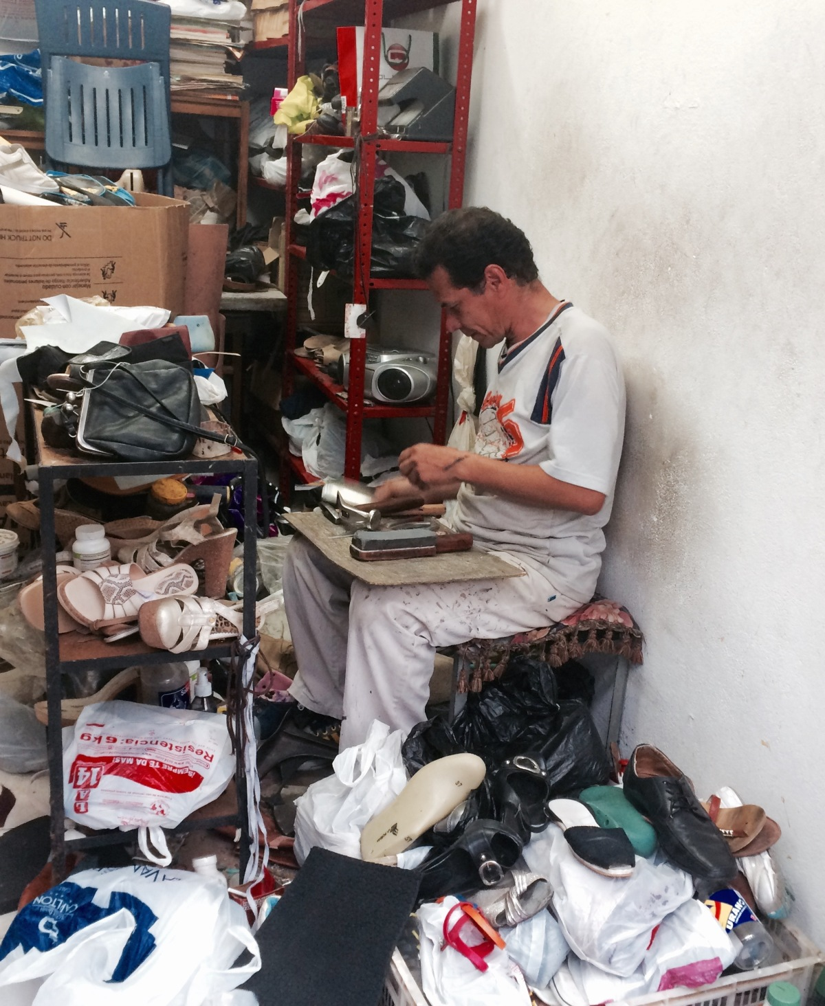 The Neighborhood Shoe Repairman